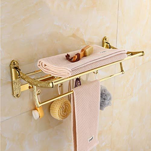 Handtuchhalter 3 Lagen Tisch-Handtuchhalter 12x9,9 Zoll Bad K/üche Lagerung Handtuchhalter schwarz modern minimalistisch Handtuchstange Handtuchst/änder Color : White
