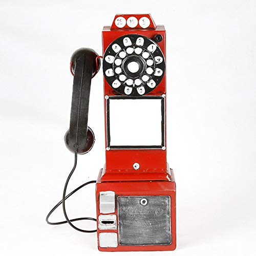 W.S.-YUE Antikes Telefon vorbildliche Dekoration Home Retro Model Ornaments Vintage Ornament