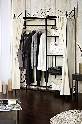 besonderer kleiderst nder schwarz f r flur diele oder. Black Bedroom Furniture Sets. Home Design Ideas