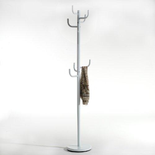 Kleiderständer Weiß Metall stabile garderobenständer aus metall