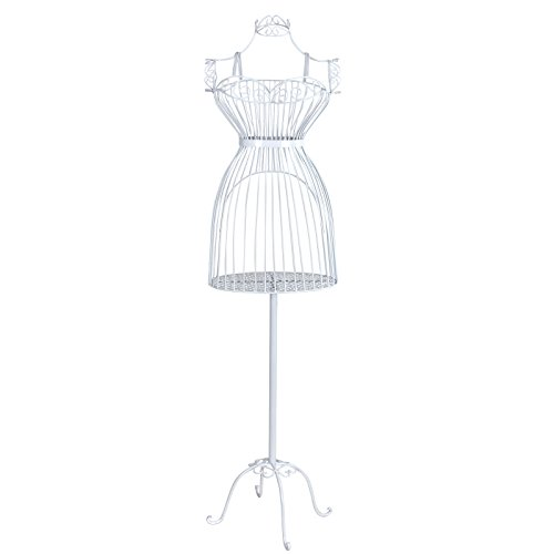Kleiderständer Weiß Metall kleiderständer puppe figur dekopuppe oder büste
