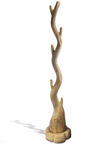 Kleiderständer Holz Klappbar ~   Kleiderständer Garderobe Kleiderhaken Massivholz Suar Holz Neu