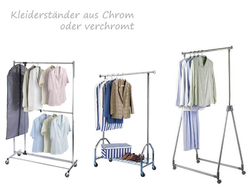 Kleiderständer Chrom