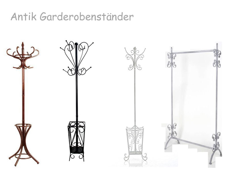 wundersch nen garderobenst nder antik kaufen. Black Bedroom Furniture Sets. Home Design Ideas