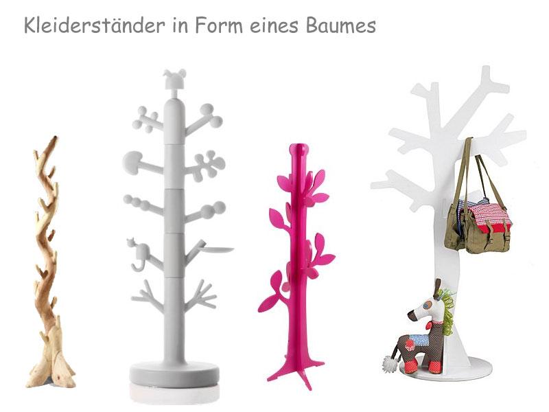 Kleiderständer Baumstamm