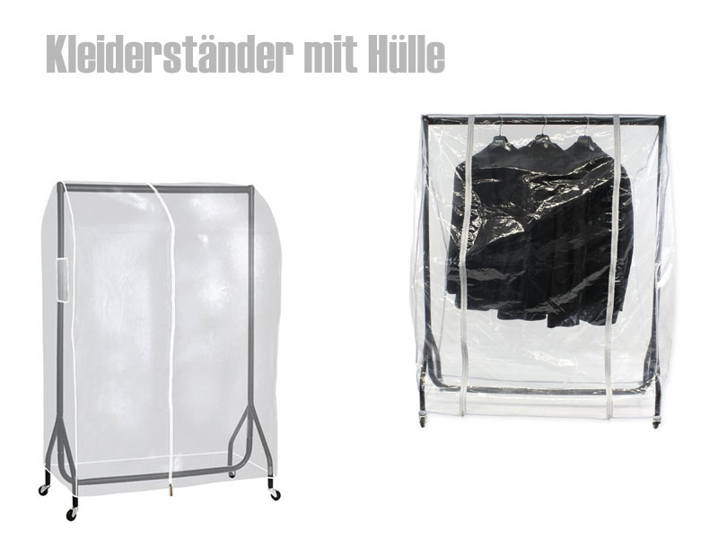 kleiderst nder mit h lle schutzh lle oder stoffbezug. Black Bedroom Furniture Sets. Home Design Ideas