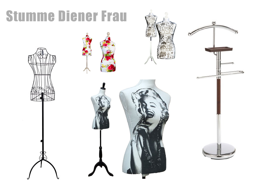 stummer diener frau schneiderpuppe. Black Bedroom Furniture Sets. Home Design Ideas